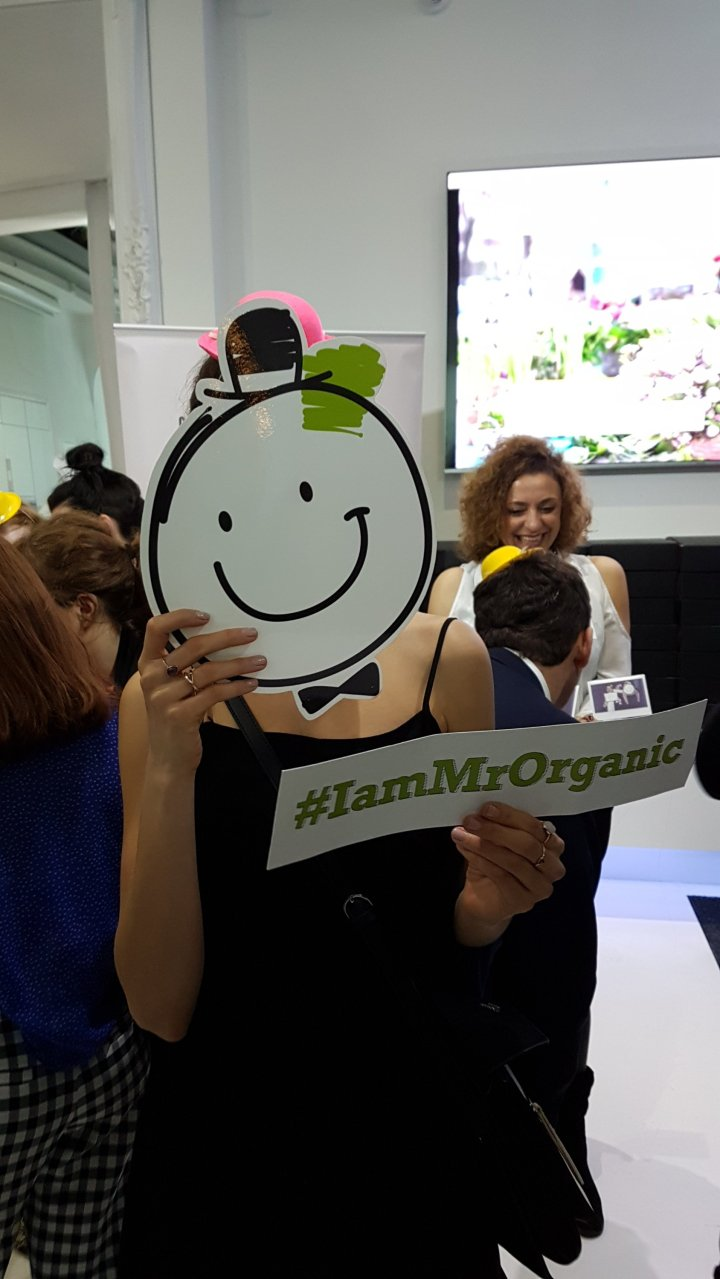 Are you Mr Organic? Food Meets/Means Positive