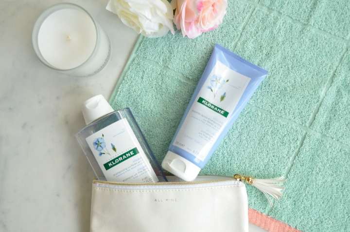 Beauty Review; Klorane Flax FiberRange