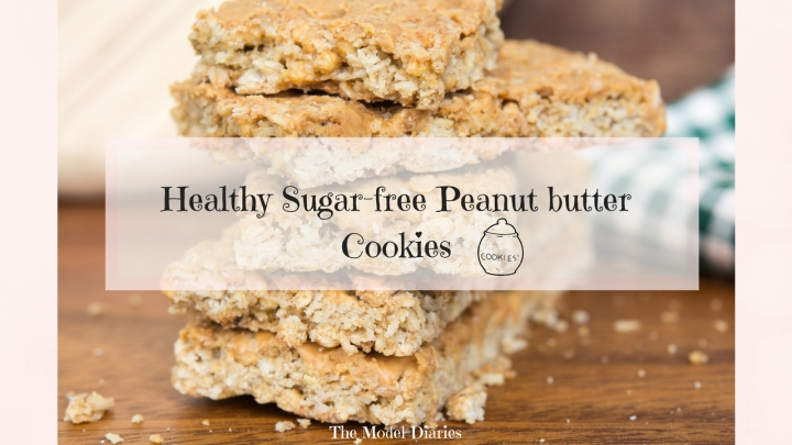 Healthy Peanut Butter Cookies (Sugar-free)
