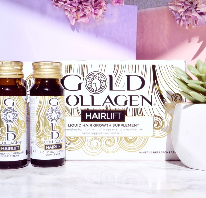 Could supplements be the holy grail of achieving perfect hair? Gold Collagen HairLift Review