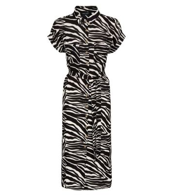 black-zebra-print-midi-shirt-dress (1)