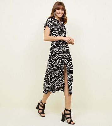 black-zebra-print-midi-shirt-dress (2)