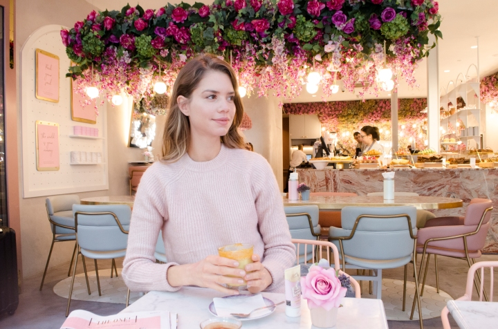 Possible the most Instagrammable new spot in London? Elan Cafe Oxford Street