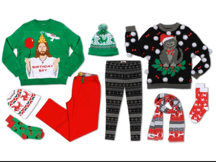 The Christmas sweater – The Ugly Edition
